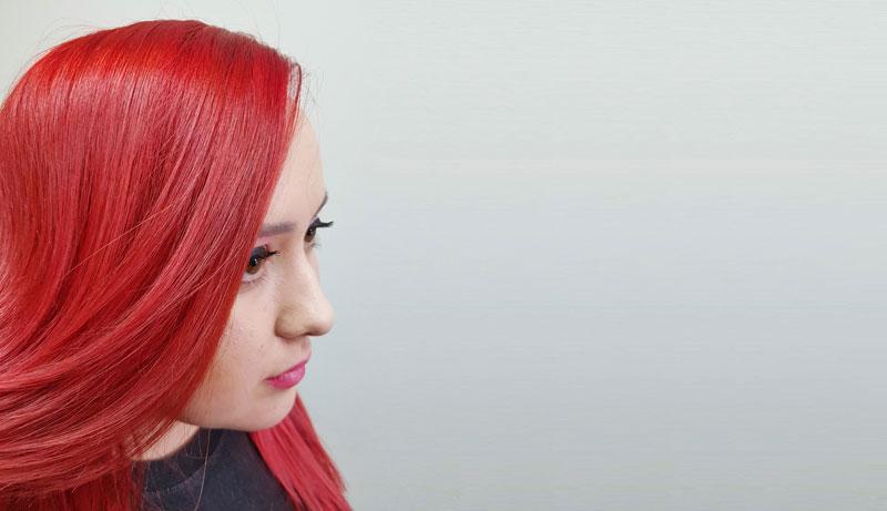 Farbanje kose u crveno